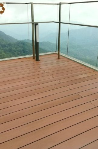 high-performance composite decking used on roof-tops and observation decks