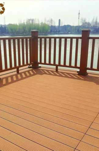 high-performance composite decking used on balconies and verandah decks