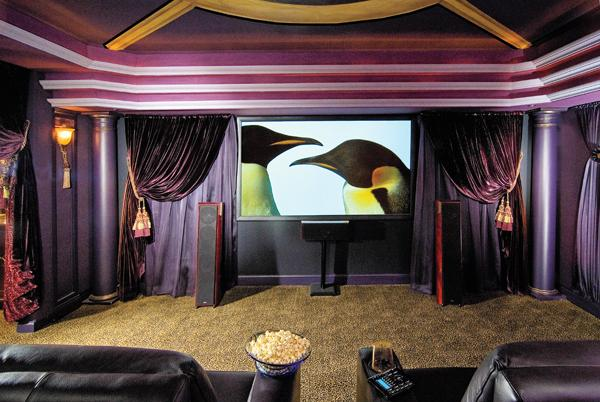 Home Theaters Customize Homes Best