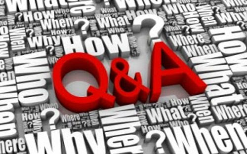 Answering Questions You Asked
