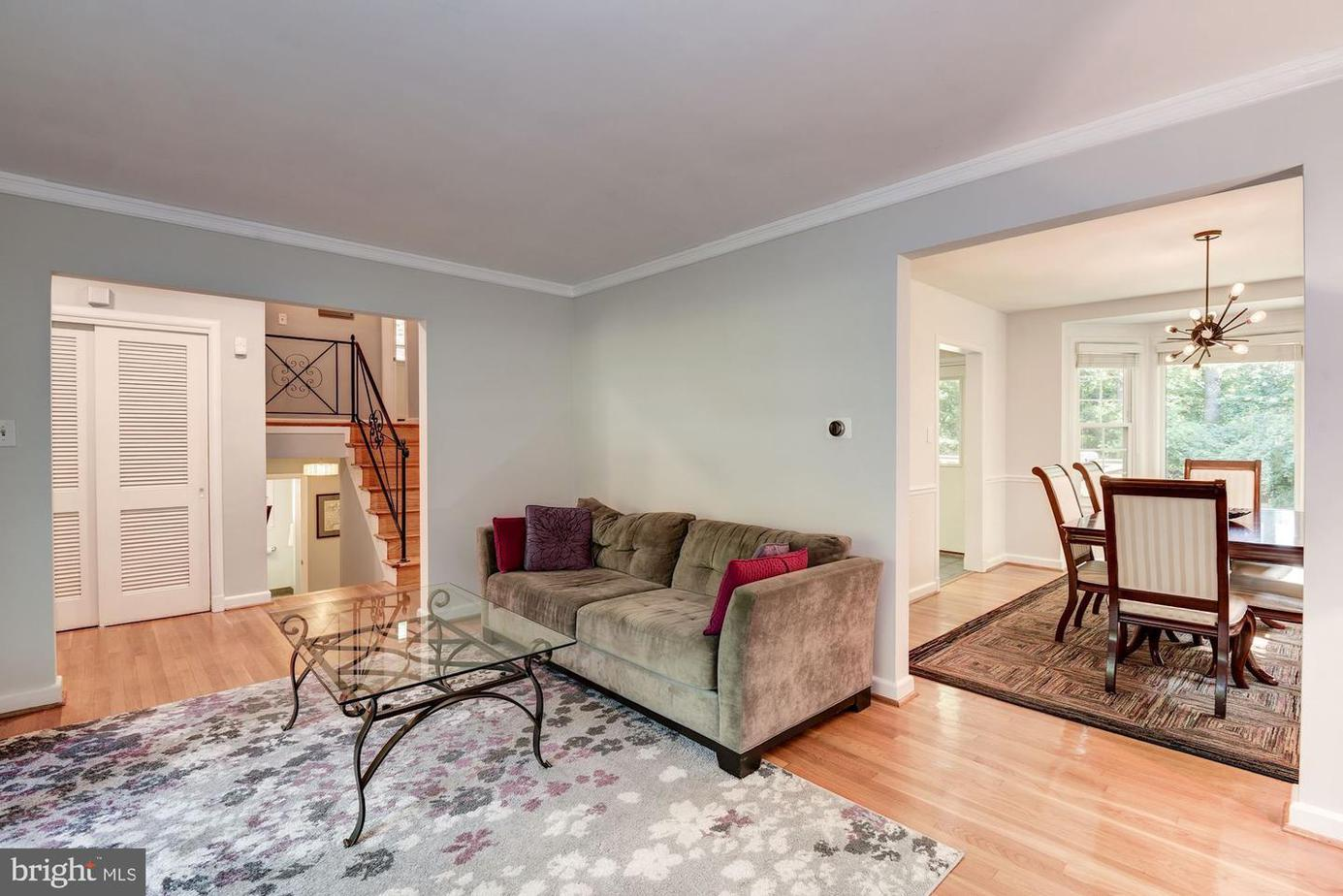 3519 Glenmoor Drive, Chevy Chase, MD 20815 Central Living areas